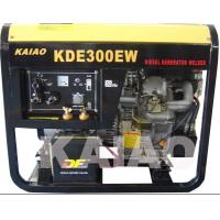 Quality 12.5L Fuel Tank  Diesel Engine Welding Machine 60hz 3.2kva CE ISO Certification for sale