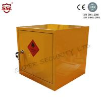 Quality Metal Mini Portable Hazardous Storage Cabinet Anti-fire Solid Seam Welded Cabinet for sale