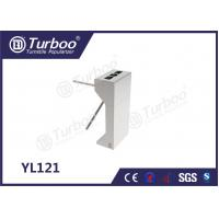 Quality 304 Stainless Steel Electronic Turnstile Gates 35 Persons / Min Transit Speed for sale