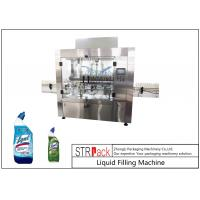 Quality 100ml - 1L Automatic Liquid Bottle Filling Machine , Clorox / Bleach / Acid Filling Machine for sale