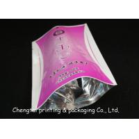 Quality Half Aluminum Heat Sealing Dried Fruit Bags With Clear Window Food Grade Bag for sale