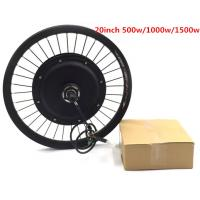"BLDC 36v 48v 1000w 20"" Electric Bike Hub Motor / Bicycle Wheel Electric Motor"
