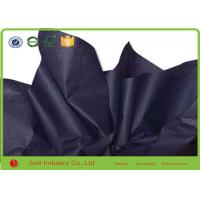 China Clothes Packing Bulk Colored Tissue Paper Wholesale Black Color Gravure Printing on sale