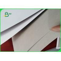 Quality FSC White Clay Coated Duplex Board 250gsm Recycled Paperboard Sheets for sale