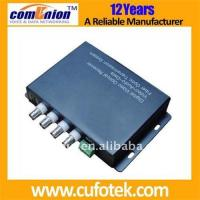 Buy 4 channel CCTV fiber optic transceiver at wholesale prices