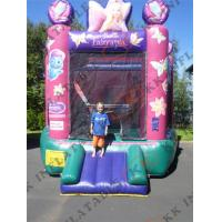 Mini Inflatable Bouncer Scratch-resistant Backyard Bouncing Games