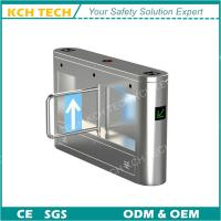 Quality Coin Operated Single Channel DC 24V Brush Motor Swing Turnstile for sale