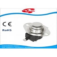 Quality 240V / 25A Bimetal Snap Disc Thermostat KSD302R-244 For Household Appliances for sale