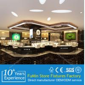Quality clear acrylic jewelry showcase /jewelry cabinet for sale