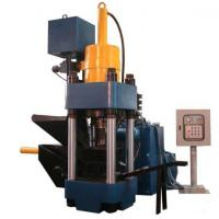 Quality High Efficiency Metal Briquetting Press Machinery / Hydraulic Sawdust Briquette Press for sale