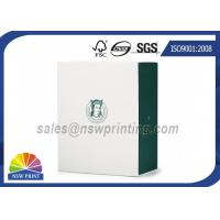 Quality Apparel / Shoes Packaging Rigid Paper Gift Box Drawer Shaped Custom Logo Printing for sale
