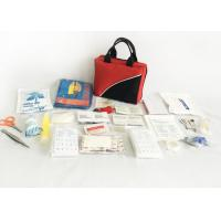 Handle Strip First Aid Kit Bag Soft Fabric Multi Compartments CE Certification