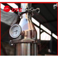 Quality DYE 70Kg Miniature Alcohol Home Distilling Machine 3mm Thickness for sale