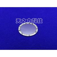 Quality Circular Plane Artificial Flat Watch Glass Ground And Beveled Edge Finish for sale