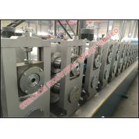 Quality Metal Omega Type Profile Sheet Roll Forming Production Line, Steel Rollforming Machine for sale