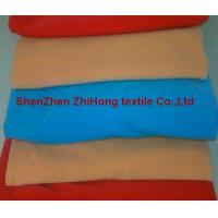 Quality Good quality colorful elastic stretch brushed napped  loop /OK nylon fastener fabric for sale