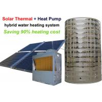 Quality Solar Thermal And Air Heat Pump Water Heater System Coplent Scroll Compressor for sale