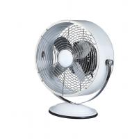 Quality 9 Inch 3 Speed Retro Style Electric Fans CE White For South Africa for sale