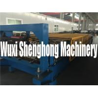 Quality Customized Adjustable Roof  Roll Forming Machine Automatic PLC Control for sale