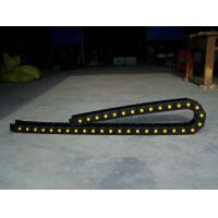 China TEZ series-weight bearing engineering nylon CNC cable drag chain on sale