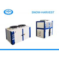 Quality Top Discharging Refrigeration Condensing Unit Compact Air Cold Condenser for sale