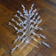 Quality Professional quality transparent outdoor acrylic christmas tree for Gift/Oranments for sale