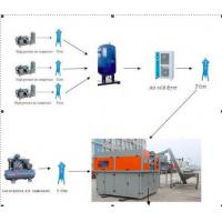 Quality 4 Cavity Mineral Water PET Bottle Blowing Machine , Plastic Stretch Blow Moulding Machine for sale