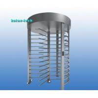 Quality 120 Degree Rotation Full Height Turnstile Gate With RFID Reader Coin Acceptor for sale