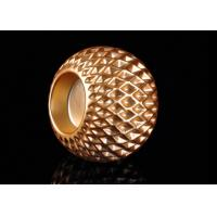 Buy Honeycomb Design Electroplating Effect Tealight Candle Holder Made By Ceramic at wholesale prices