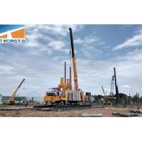 Building Construction Piling Machine ZYC280 T - WORKS High Piling Speed