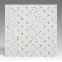 Buy Hot Stamping Surface PVC Ceiling Tiles Flat Board Type Environmental Material at wholesale prices