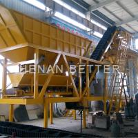 China Mobile concrete batching plant on sale