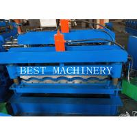China Corugated Tile Roll Forming Making Machine 380v 2 Years Warranty for sale