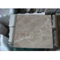 Quality Light Emperador Marble Stone Tiles Beige Color For Bathroom Kitchen 305x305mm for sale