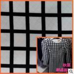 Quality Spring jacquard printed fabrics windbreaker simple fashion geometric patterns for sale