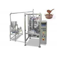 Buy cheap Automatic Stick Chocolate Paste Packing Machine with Filling , Sealing , Wrapping  Function from wholesalers