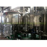 Quality 5 L Water Bottling Equipment , Filling And Packing Water Processing Machine Plant for sale