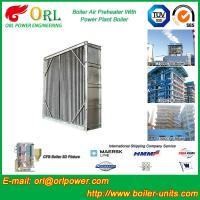 Quality Water Heat CFB Boiler APH Steam Air Preheater In Cement Plant , Tubular Air PreHeater for sale