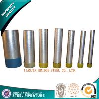 Quality Hot Dip Galvanizing Structural Steel Pipe Round Q195 Q235 E235 SS 400 for sale