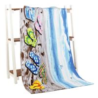 Quality Lightweight Digital Printed Beach Towels Quick - Dry For Women Spa for sale