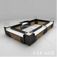 Quality 2015 Commercial Modern Cosmetic Showcase, Glass Display Jewelry Showcase for sale