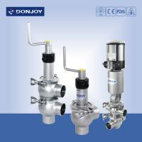 China Manual pneumatic valve with actuator , high pressure valves on sale