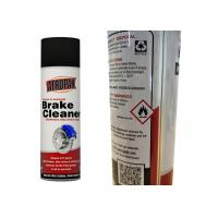 Quality Non - Chlorinated Car Brake Cleaner Spray Strong Penetration For Metal Powder Removal for sale