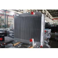 Quality Customized aluminum bar plate fin heat exchanger combi oil cooler with air after cooler for sale