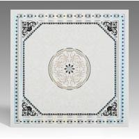 Quality Hot Stamping Surface Waterproof Bathroom Ceiling Panels Various Colors / Style for sale