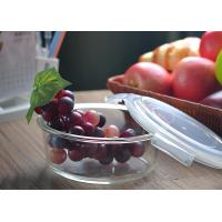 Buy Eco Friendly Home Party Large Glass Salad Bowl With Lid Chrome Free at wholesale prices