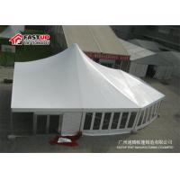 Quality Abs A Frame High Peak Party Tent , Large Event Tents For 300 People Seater Guest for sale