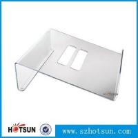 Quality Acrylic Notebook Holder, Lucite Laptop Desk stand, Plexiglass Notebook Riser for sale