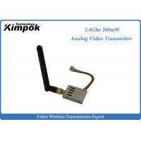 Quality 16g Super Lightweight FPV Link 2.4Ghz Wireless Video Transmitter and Receiver 8 Channels for sale