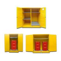 Quality Cold Rolling Steel Oil Drum Storage Cabinets 1650*1500*860mm For Flammable Liquids for sale